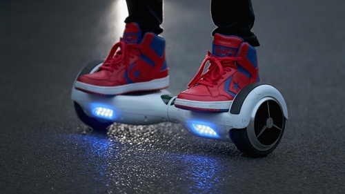 Teen on hoverboard dies after collision with bus