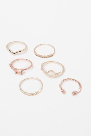 Zara Geometric Rings €14.95
