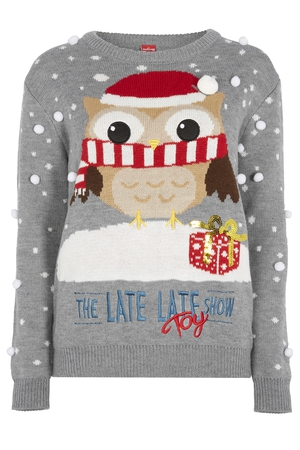 Women's Late Late Toy Show Jumper €20 at Penneys