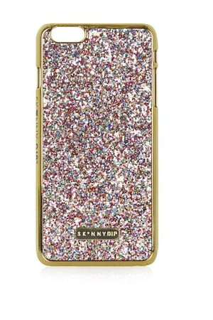 Sparkly iPhone 6 Plus Case by Skinnydip €16 at Topshop
