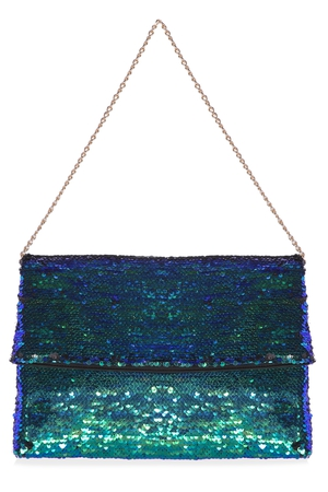 Sequin Foldover Clutch €10 at Penneys