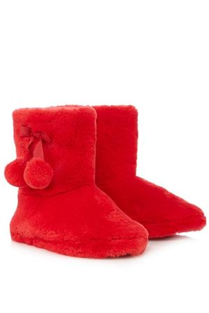 Lounge & Sleep Redf fau fur slippers €17.52 at Debenhams