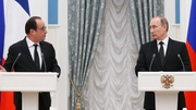 Francois Hollande met with his Russian counterpart Vladimir Putin in Moscow