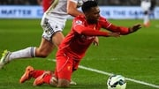 Daniel Sturridge suffered a foot injury in Liverpool training before their Europa League clash with Bordeaux