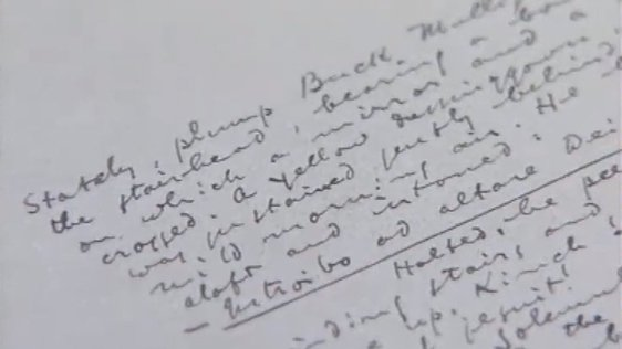 James Joyce Manuscript