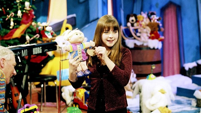 Charlotte Church on 'Late Late' Toy Show (1998)