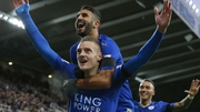 Jamie Vardy's incredible goalscoring run has propelled Leicester City to the summit of the Premier League