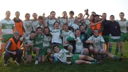 Killoe celebrate the county Under-21 title in 2011