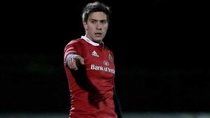 Lucas Gonzalez-Amorosino will make his first start for Munster against Connacht