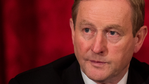 Enda Kenny was speaking in London, where he was attending a meeting of the British Irish Council