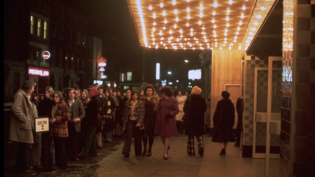 People Queuing Outside the Adelphi Cinema (1975)