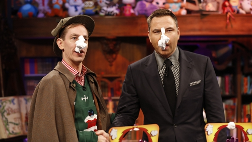 Host Ryan Tubridy was joined by special guest David Walliams on the Toy Show