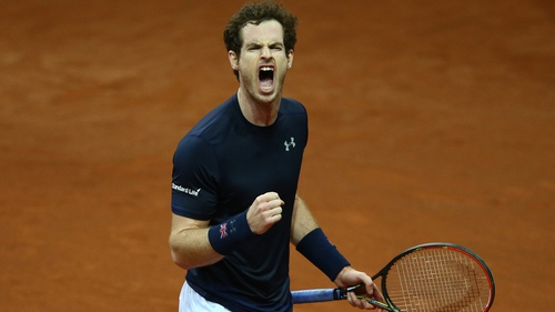 Andy Murray helped Britain get their title challenge off the mark with a 6-3 6-2 7-5 win over Ruben Bemelmans
