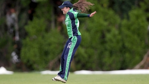 Cecelia Joyce led from the front for the dominant Irish, making 39 of an opening stand of 74