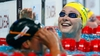 Swimmer breaks world record but finishes last