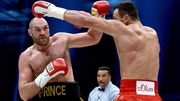 Wladimir Klitschko, looking a shadow of his former self, landed four body punches in 12 rounds against Tyson Fury