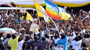 The Pope travelled to CAF from Uganda