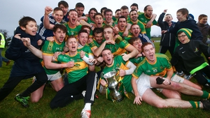 Clonmel Commercials celebrate their historic victory