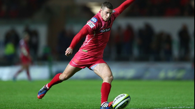 Scarlets weather the storm to battle past Zebre