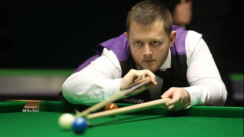 Mark Allen will face Michael White in the quarter-finals in Cardiff.