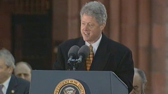 Bill Clinton Belfast (1995)