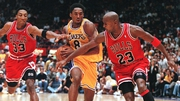 Kobe Bryant was very comfortable in the company of basketball greats Scotty Pippin and the legendary Michael Jordan