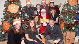 2fm presenters gather to launch this year's Xmas appeal in ai