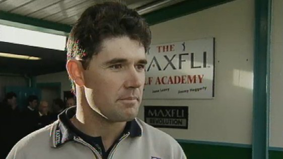 Pádraig Harrington Launches Golf Academy (2000)