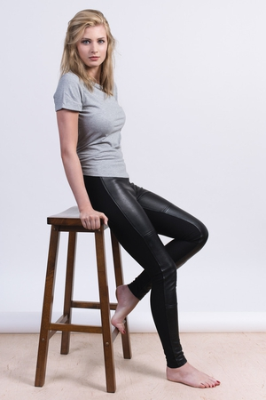 Walk Among Us Leather Super Skinny Pants, New Leather with Sustainable Viscose Stretch €399