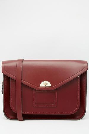 The Cambridge Satchel Company Leather Twist Lock Satchel €227.94 at ASOS