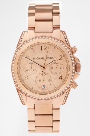 Michael Kors Blair MK5263 Rose Gold Chronograph Watch €247.06 at ASOS