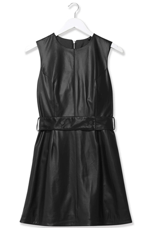 Leather Mini Dress by Boutique €260 at Topshop