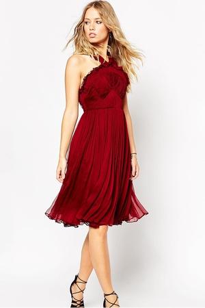 Needle & Thread Chiffon Bodice Midi Dress €242.65 at ASOS