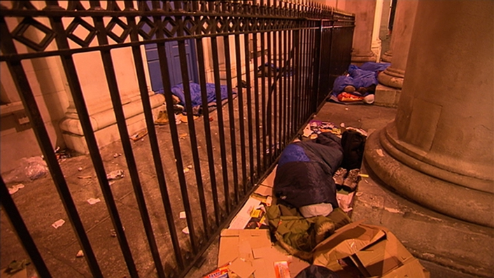 168 people slept rough in Dublin last night as homeless figures reach new high