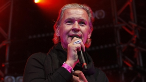 Johnny Logan: unlikely to bring back the white suit in the near future
