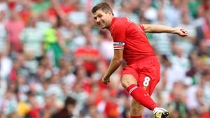 Steven Gerrard used to play with Liverpool