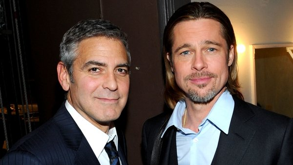 George Clooney and Brad Pitt have been long-time friends but get competitive when it comes to business