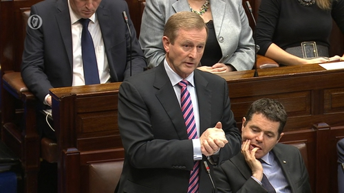 Enda Kenny said there should be no homeless people sleeping rough in Dublin this Christmas