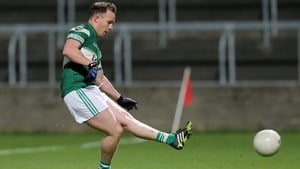 Paul Cahillane scoring for Portlaoise in their Laois county final victory over Emo