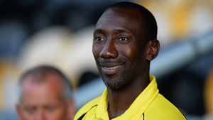 Hasselbaink was appointed Burton boss in November 2014 and guided the Brewers to promotion from League Two