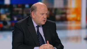 Minister Michael Noonan said he is now 'well on the mend'