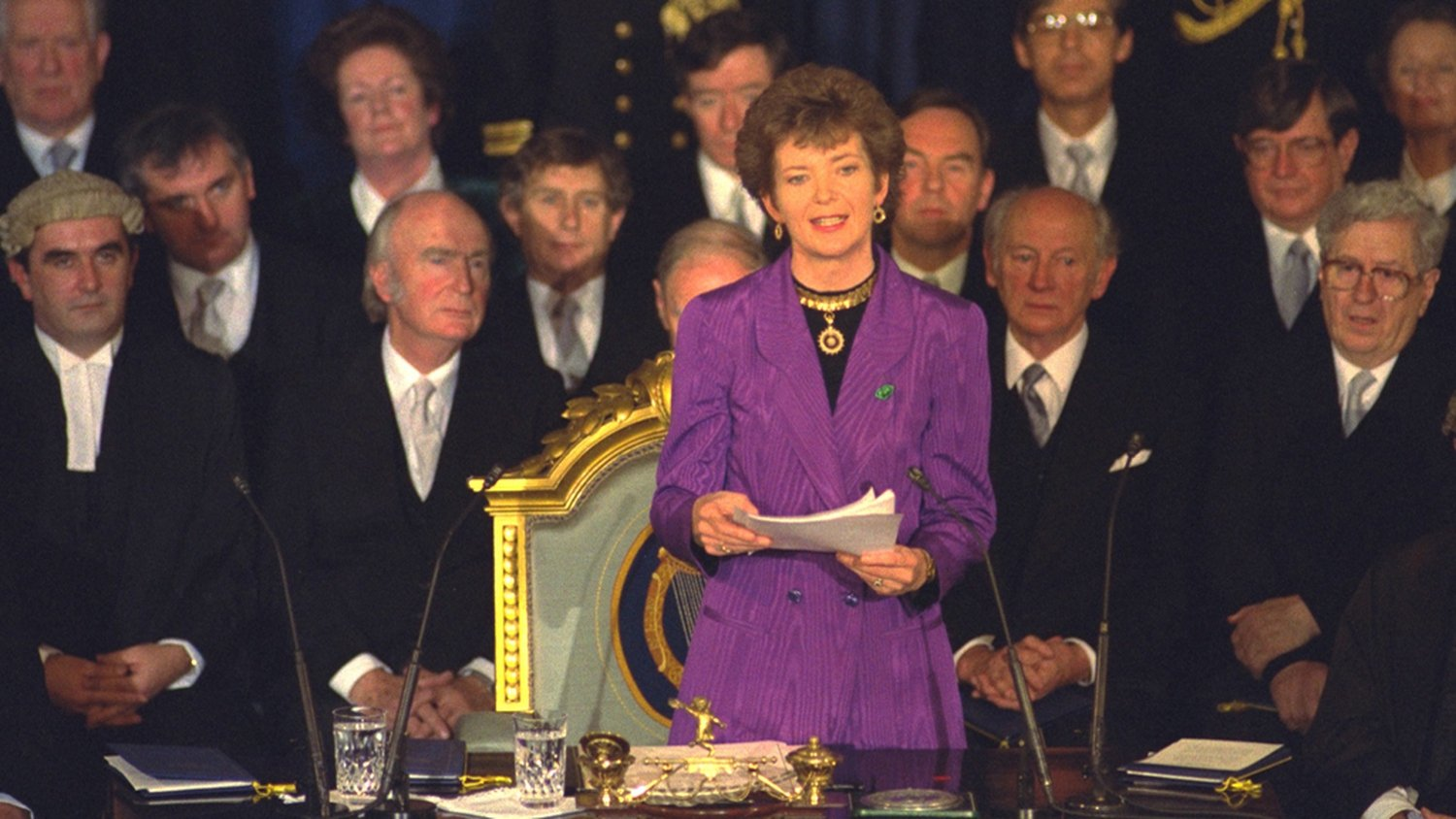 RTÉ Archives | Politics | Mary Robinson First Female President