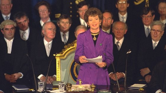 Mary Robinson First Female President