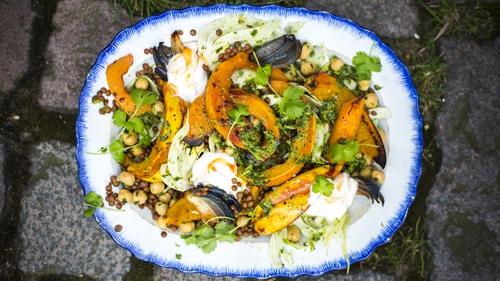 Squash Tagine with Quinoa