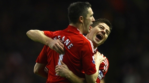 Steven Gerrard: 'I wanted Robbie to stay around for a long time. I liked playing with him and was sad to see him go.'