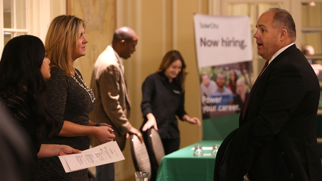 Non-farm payrolls increased by 242,000 jobs last month, new figures show today