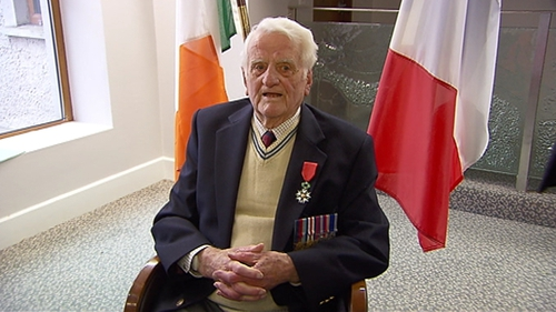 Jack Mahony was among the soldiers who landed on Gold Beach in Normandy on D-Day