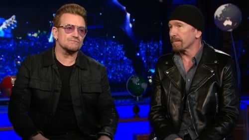 """Bono and The Edge - """"Defiant joy, we think, is the mark of our band and of rock and roll"""" Photo: CNN"""