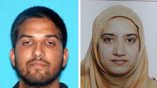 Syed Rizwan Farook and Tashfeen Malik stormed a gathering of his work colleagues, opening fire with assault rifles