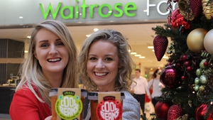 Sarah O'Connor and Isolde Johnson founders of award winning Irish start-up, The Cool Bean company